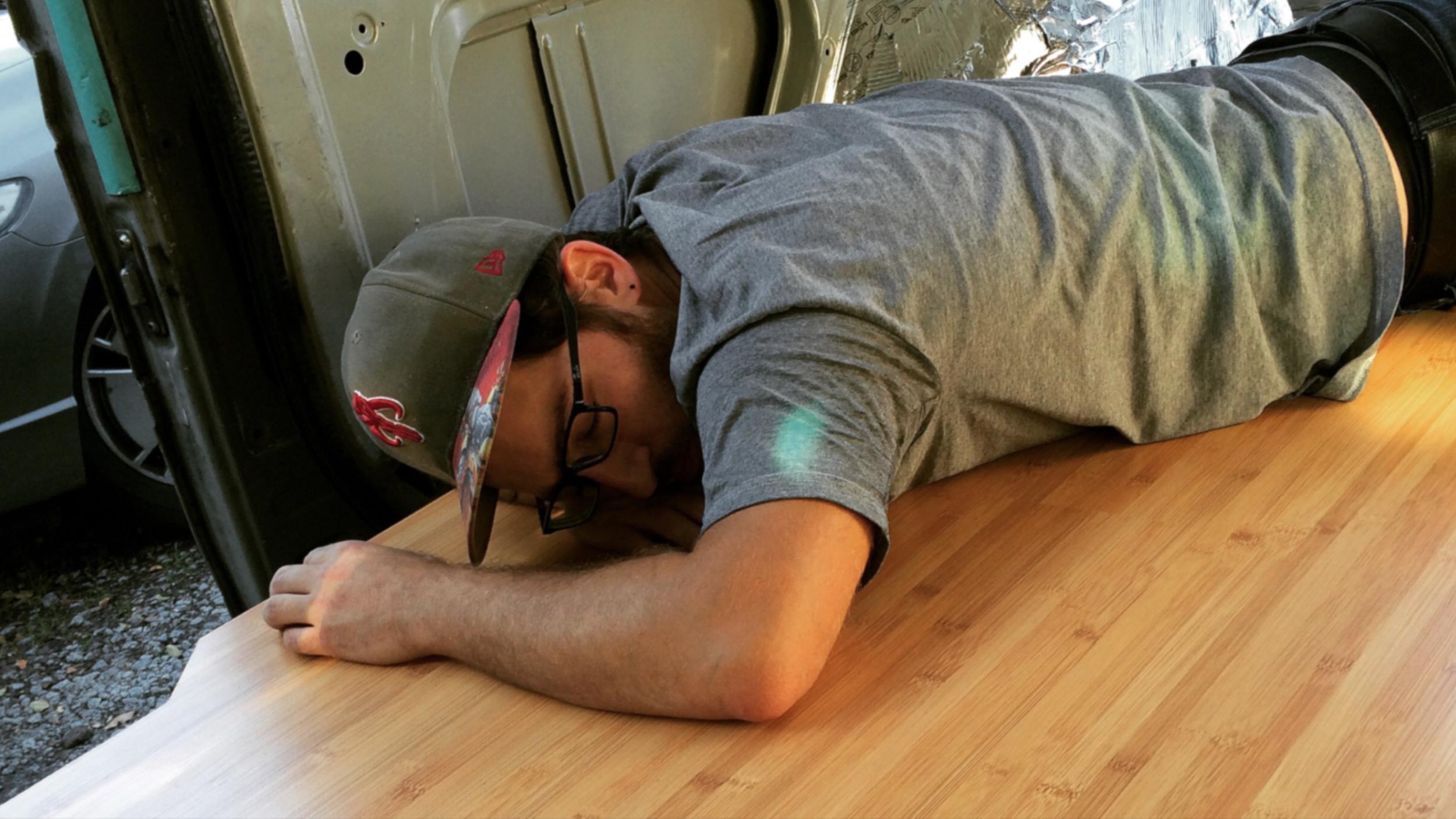 So tired of flooring
