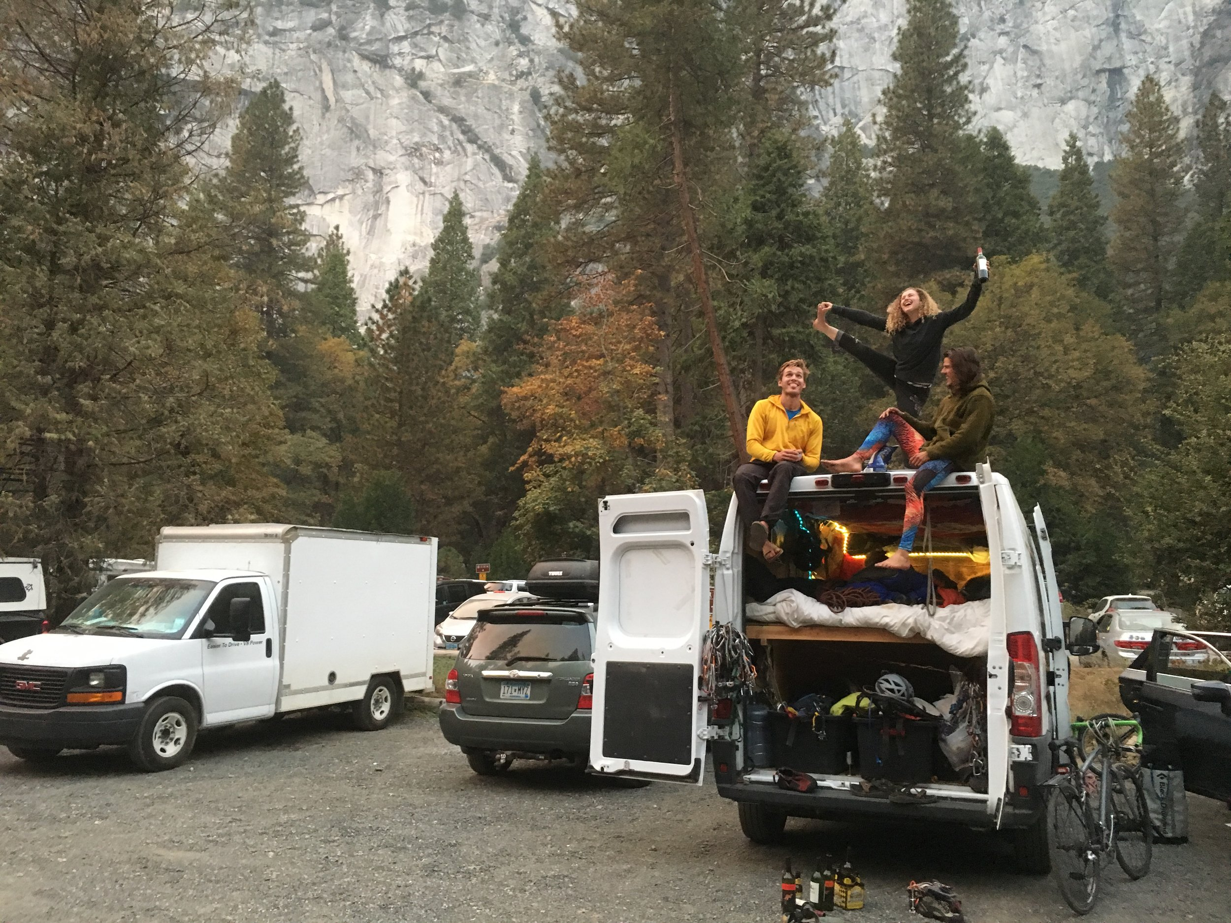 Welcome to Yosemite National Parking lot