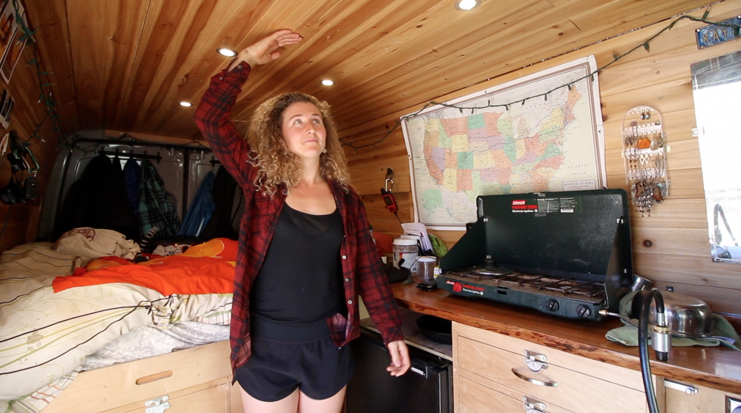 Dating in a van .- One Chick Travels