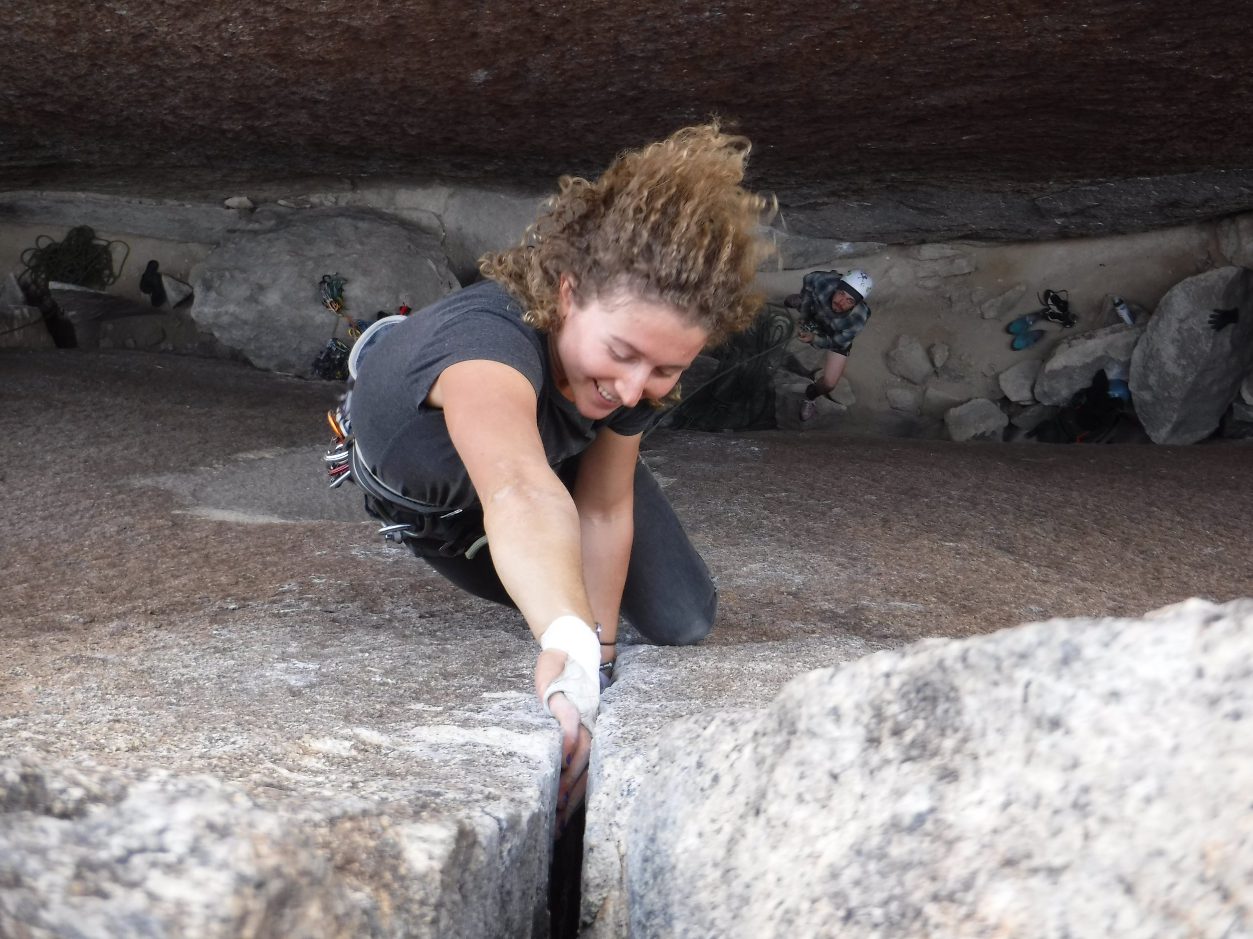 Hitting the Road as a rock Climber - One Chick Travels (Heart of Darkness)
