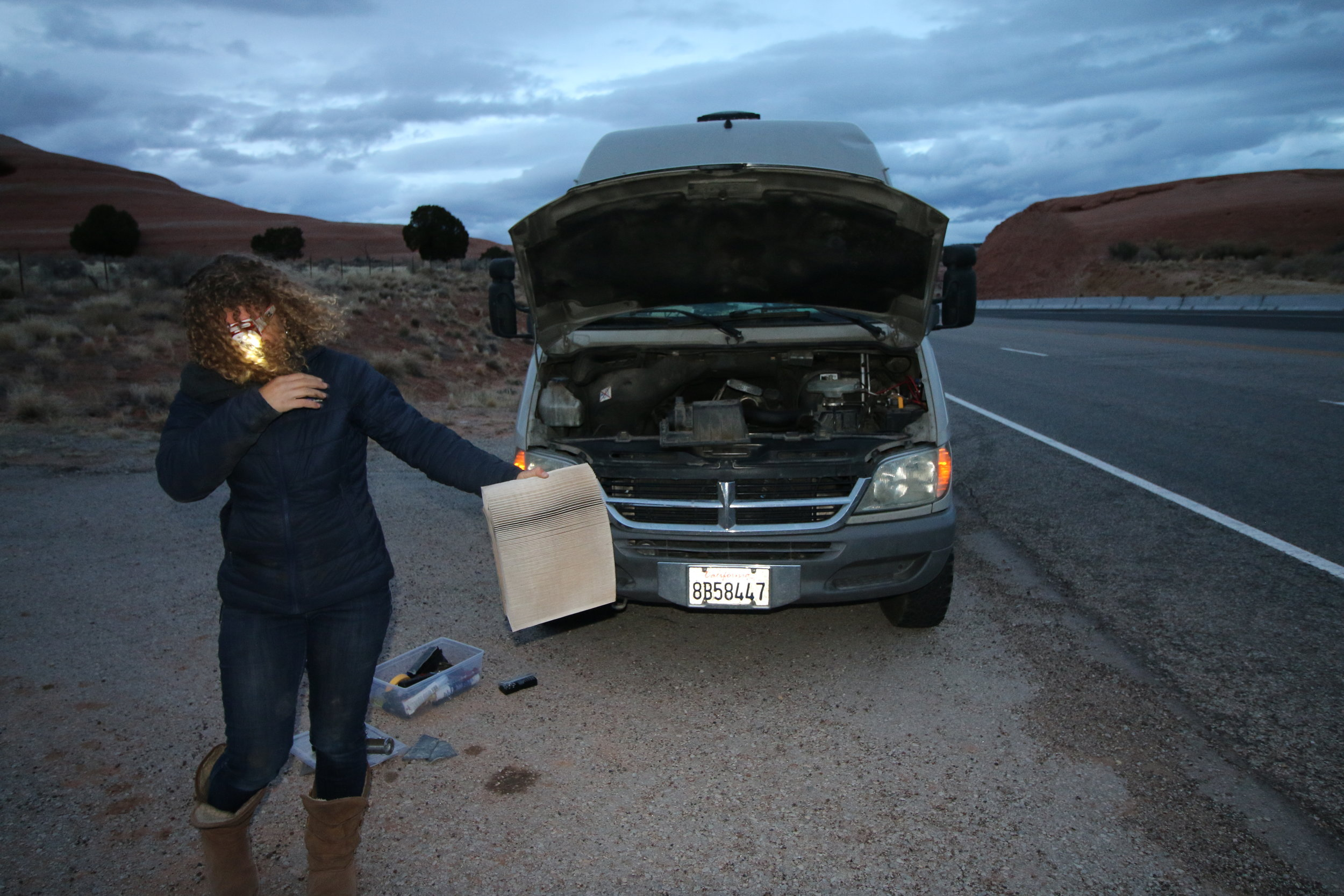 One Chick Travels - Transmission Issues