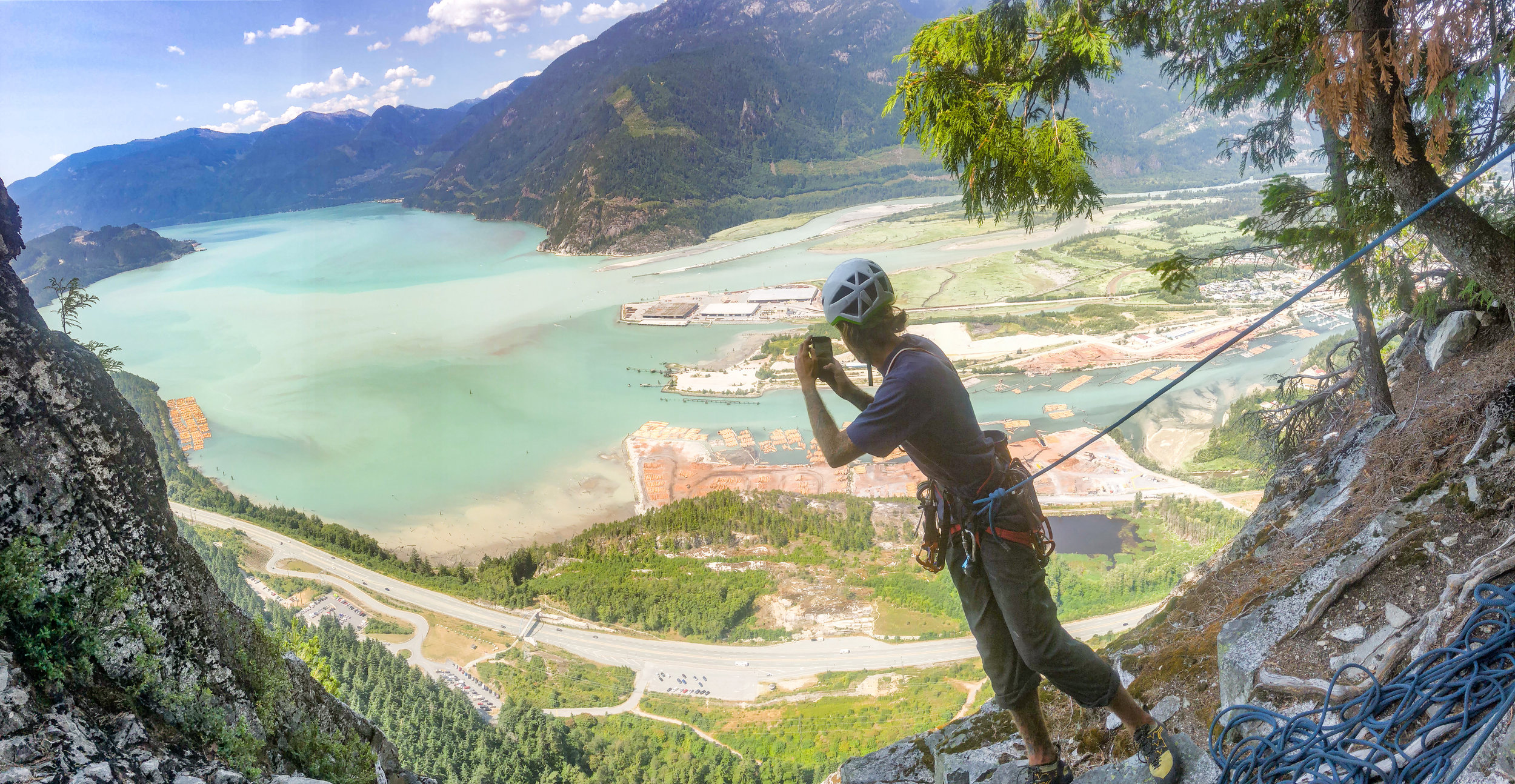 Squamish on a clear day