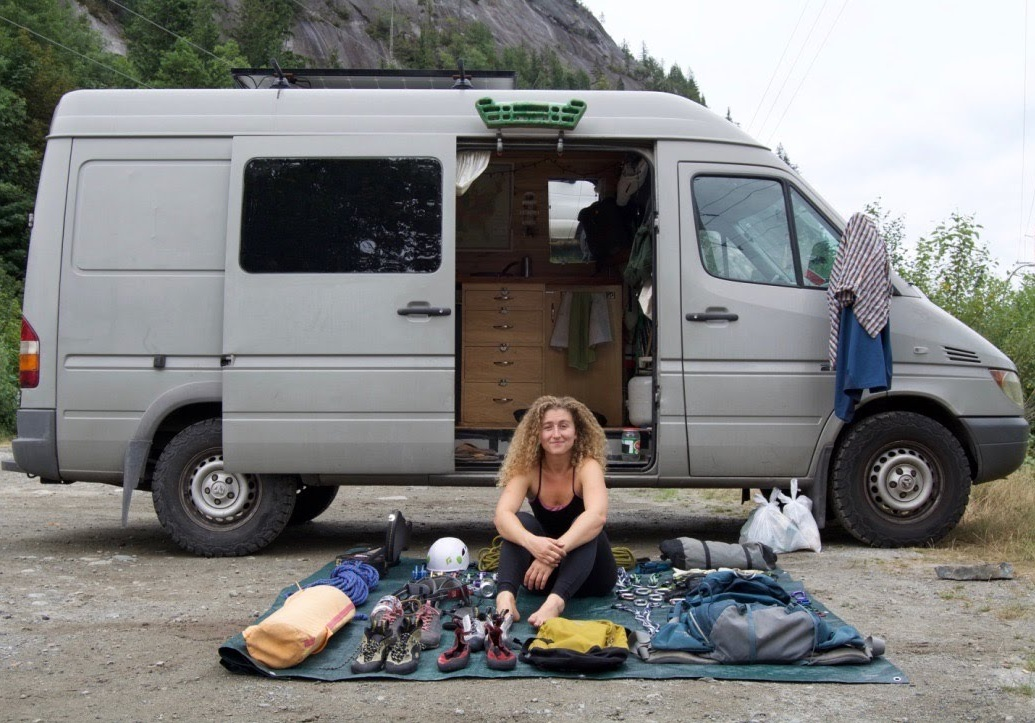 June 2017 on my first trip to Squamish, where I learned how to climb