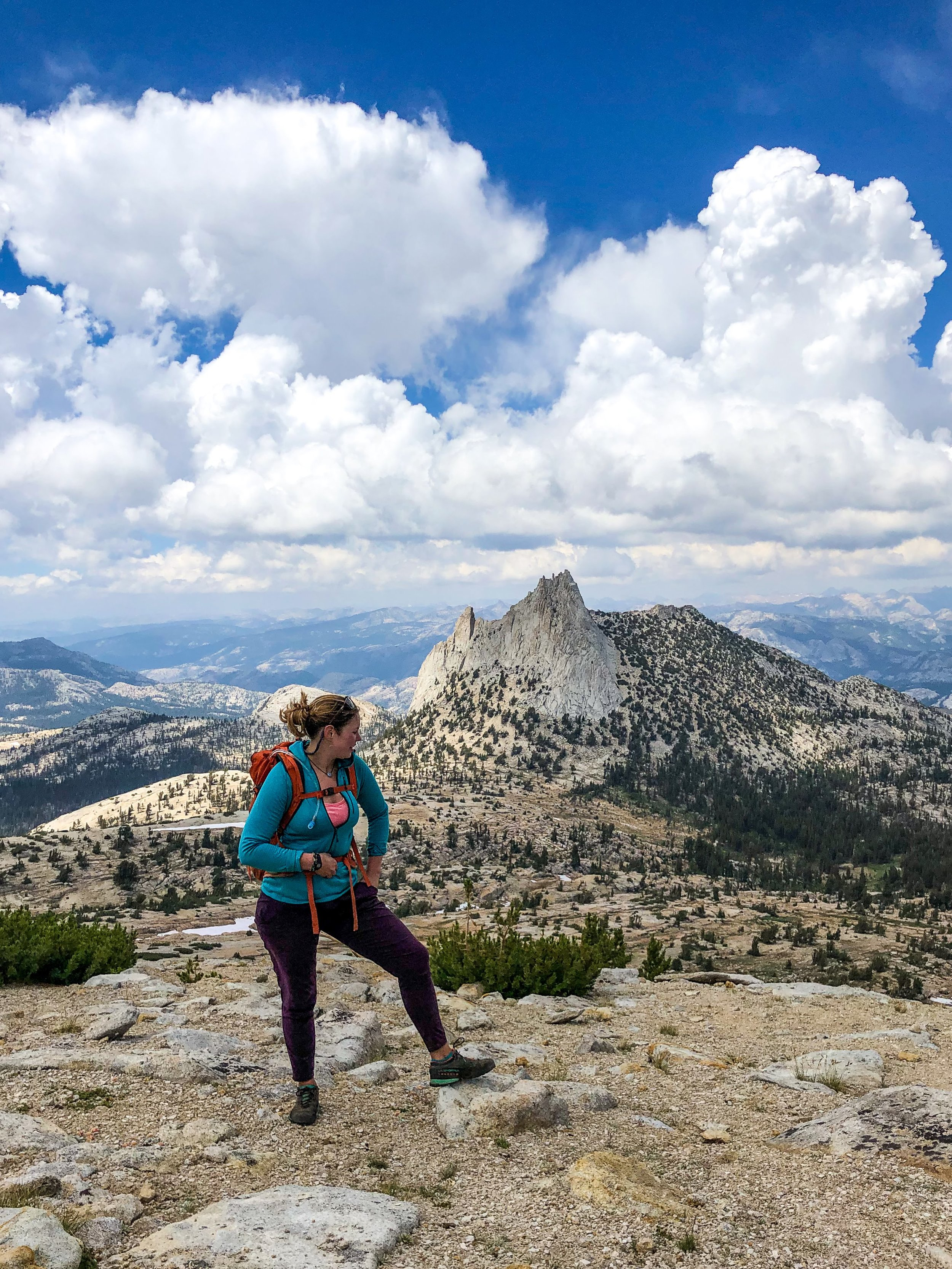 Kate and Cathedral Peak
