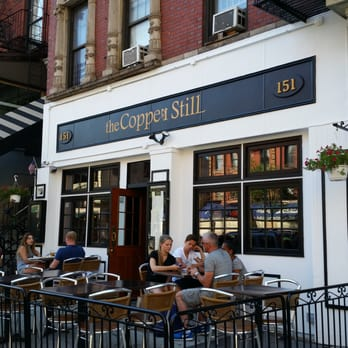 THE COPPER STILL   151 2nd Ave   SCOTCH SERVED: