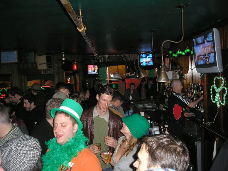 SHADES OF GREEN   125 E 15th St   SCOTCH SERVED: