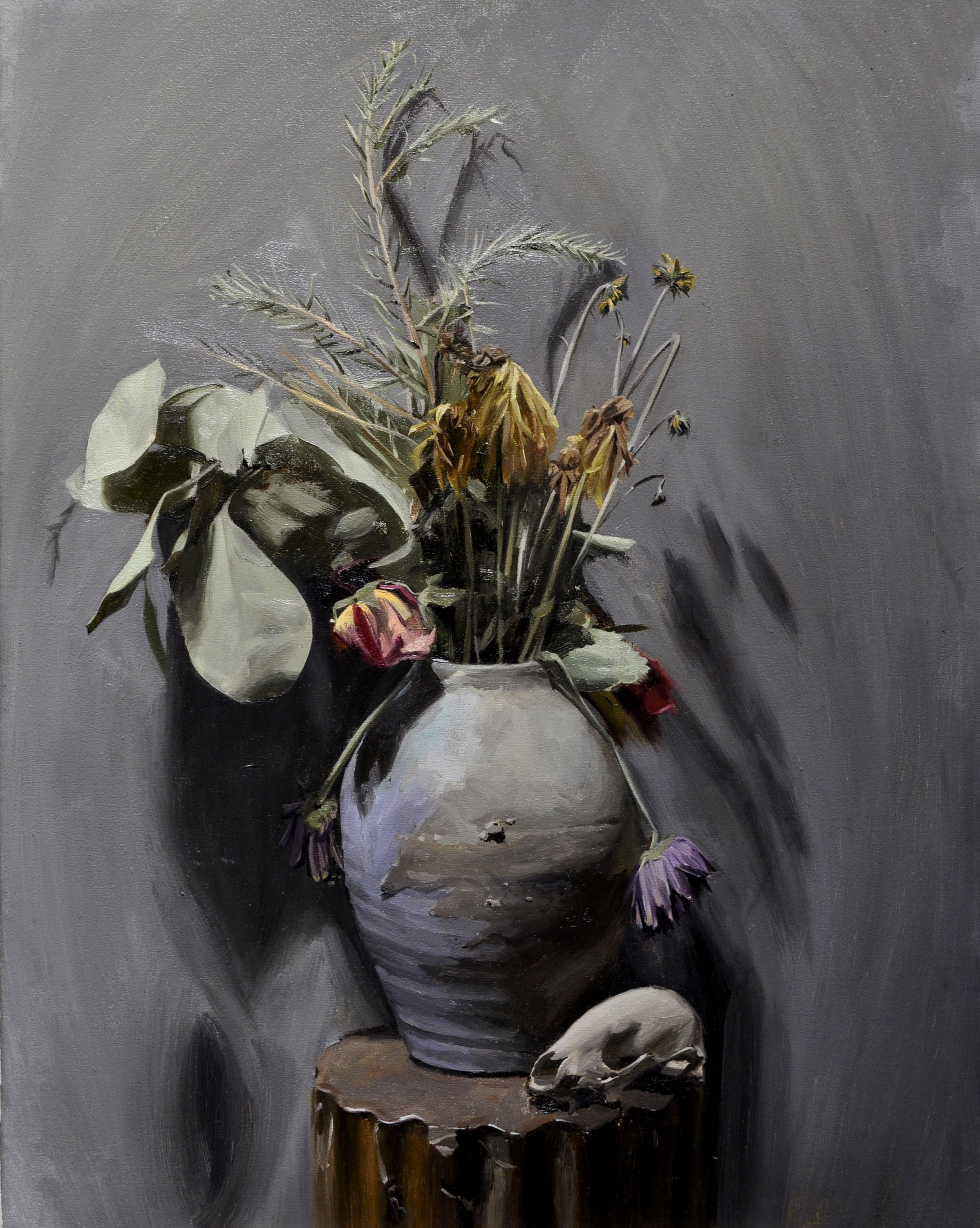 Vanitas oil on linen, 2014 18 x 24 inches