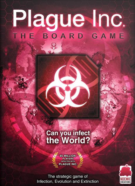 The End of Times - A great mobile app adaptation. Plague Inc is a neat little game in which you are deadly pathogen and your goal is to wipe out the world. You evolve your pathogen as the game progresses and you soon begin to see how deadly you've really become. Easy to learn. Fun to play.