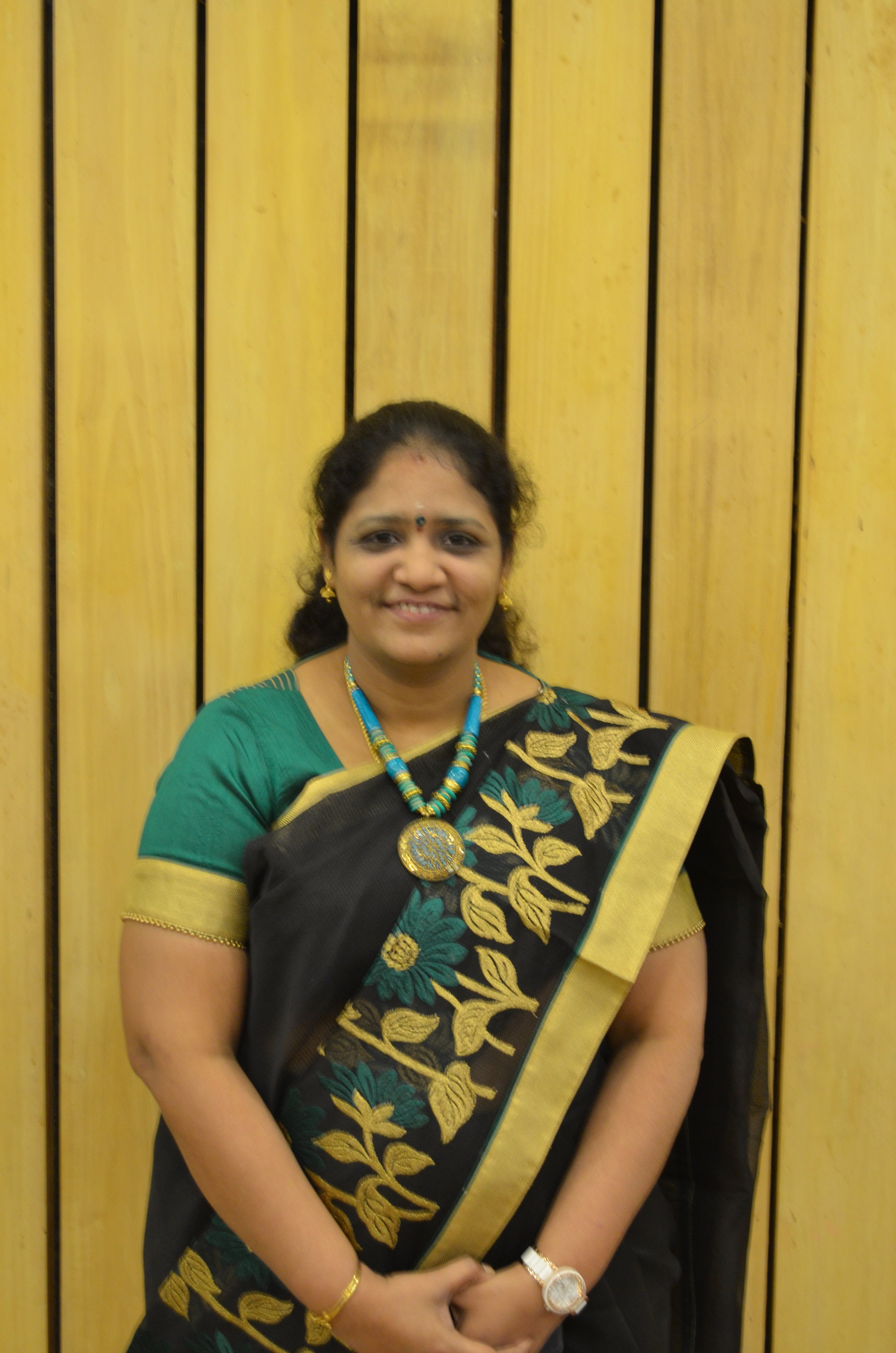 "- Dr.T.N.UMA MAHESWARI is working as a Professor in the Department of Oral Medicine and Radiology. Her association with Saveetha University dates back from2002to till date.Shehas 11 years of PG teaching experience and recipient of five awards namely Jaya Group of Institutions Award for Evidence based novel diagnosis of early malignant changes in oral potentially malignant disorder ,Best dissertation, Best article and Best paper presentation awards received from IAOMR (INDIAN ACADEMY OF ORAL MEDICINE AND RADIOLOGY). She also received a title MABMS (MEMBERSHIPOF INDIAN ASSOCIATION OF BIOMEDICAL SCIENTIST) for her contribution in the field of Biomedicine. She had guided 4 PG dissertations andhad completed 10 short term projects and is currently guiding around 10 ongoing short term projects and two dissertations. She had received ICMR grant in the year 2013 for STS proposal on ""Expression of salivary biomarkers -Alkaline phosphatase and lactate dehydrogenase in oral leukoplakia which received ""Dr. Leela Krishnamurti Memorial Award"" in 34th Annual Conference IABMS held at Dr.ALM PGIBMS, Chennai. She has contributed two chapters in Exam Preparatory Manual for Undergraduates which is an Elseiver Publication. She has published 52 articles in various national and international journals. She has been a resource person in Journals namely Biomedicine, JOOO,Internet Journal of Forensic Medicine &Toxicology & Indian Journal of Forensic and Community Medicine and has served as EC member of IABMS. She has delivered 13 invited lectures and has been in theorganising team of 10 conferences, chaired 15sessions and has attended 40 conferences, 24 workshops and has served as external examiner in various Universities.She is an editor in chief of International Journal of Forensic Odontology(IJFO) which is published by Wolters Kluwer , Medknow publication.Conferences attended - 41Workshop - 25Publications - 75"