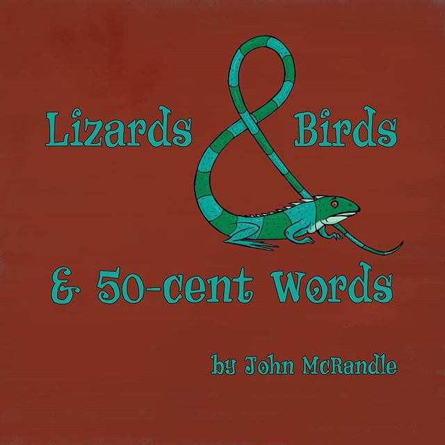 Good morning, everyone! My new book Lizards & Birds & 50-cent Words is now available in softcover for the princely sum of $20.00! If you would like to order a copy, please head over to www.awfulbet.com. Thank you!  #illustration #digitalart #penandink #lizards #birds #alphabet #abc