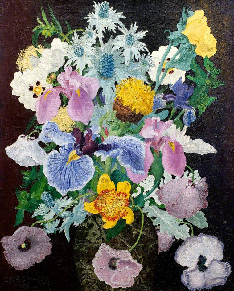 'Serpentine Pot' by Cedric Morris