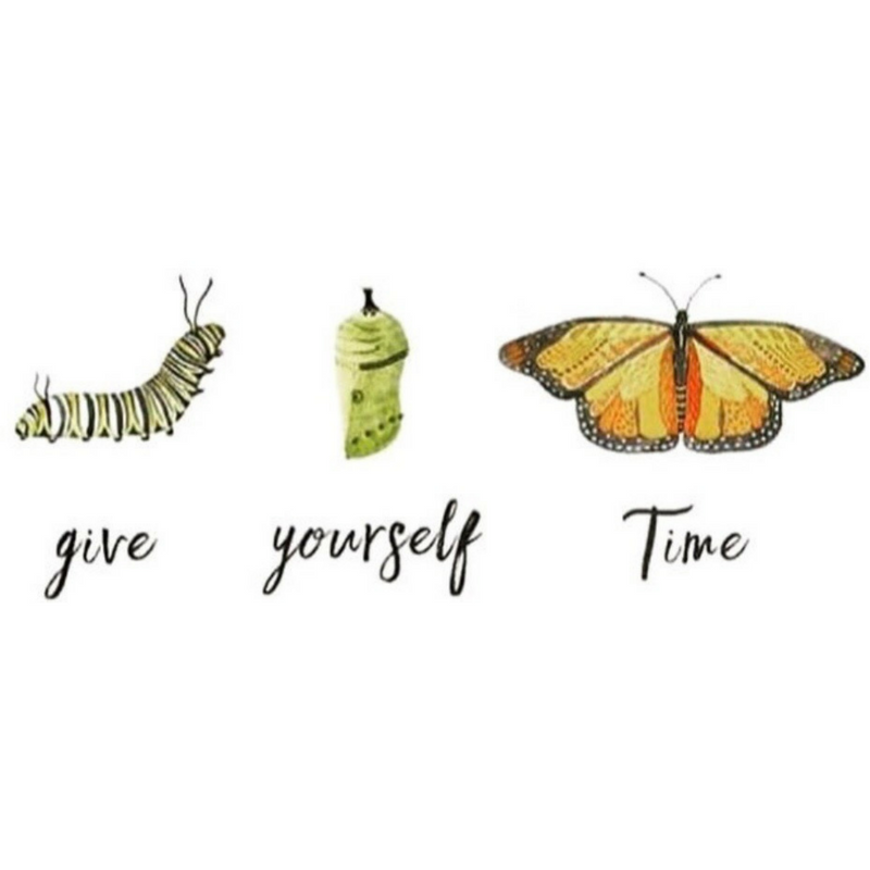 Give yourself TIME — Kate Hagen