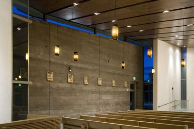 St Bartholomew, Valley Center - Rammed Earth !!© Harrison Photographic