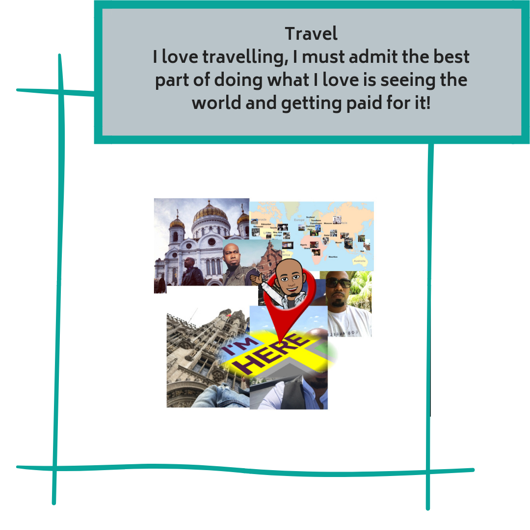 TravelI love travelling, I must admit the best part of doing what I love is seeing the world and getting paid for it!.png