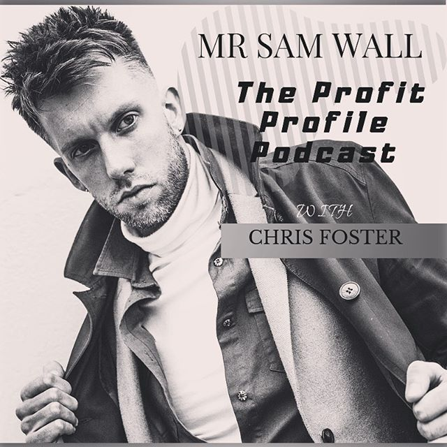 🗣 I can't wait to drop a new episode of the Profit Profile Podcast on Monday. An interview with the multi award winning men's hairdresser, Mr Sam Wall.  From the clothes on his back to his own super successful product range.  You have to listen to his amazing story.