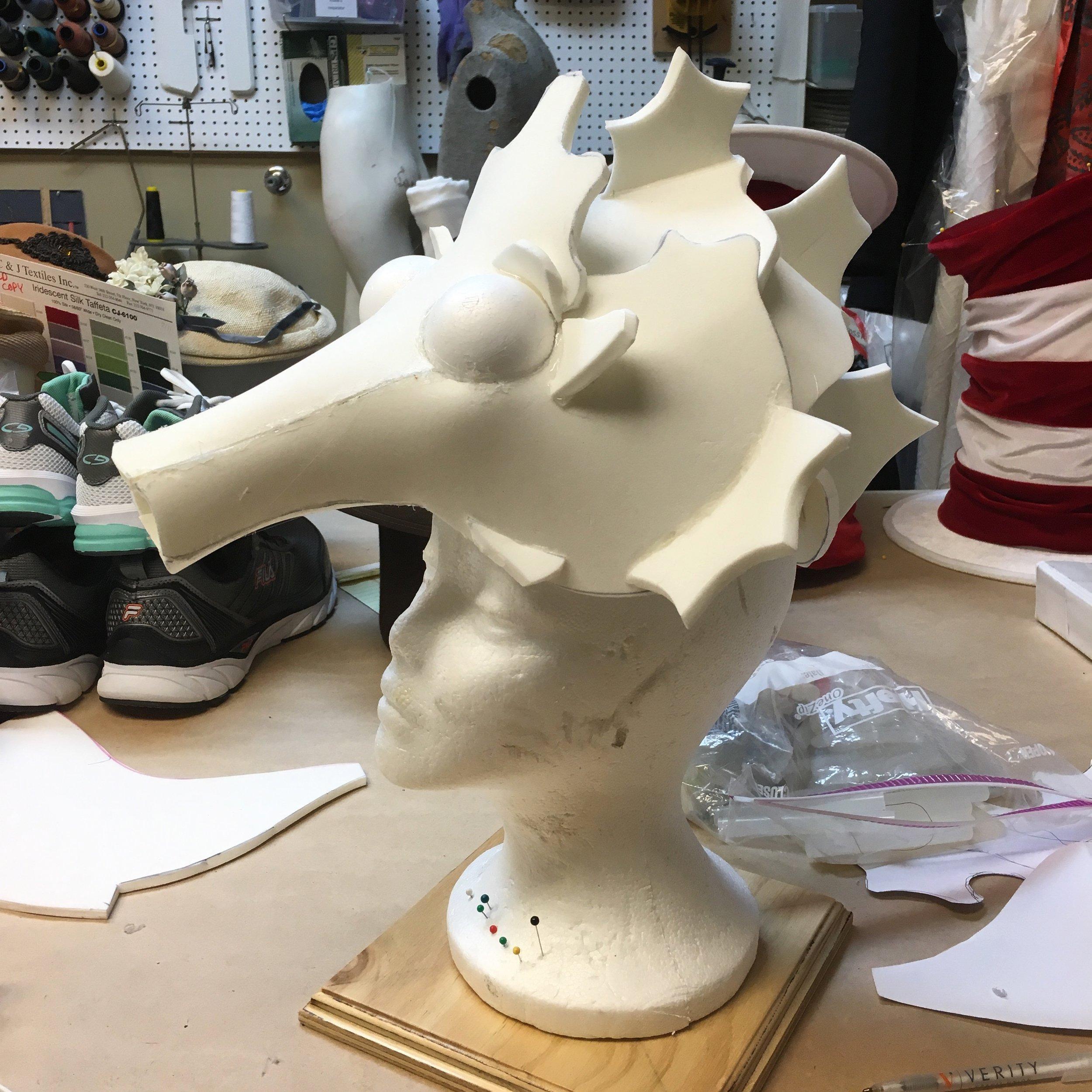 A Seahorse Head