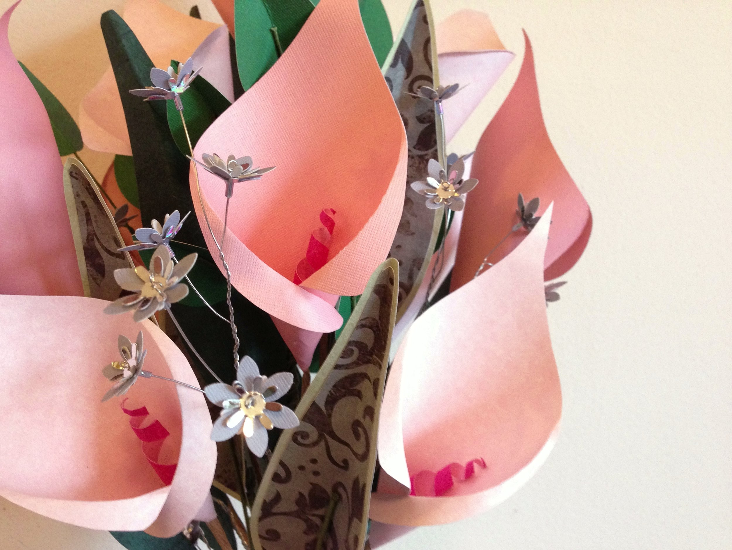 Copy of Paper calla lily bouquet