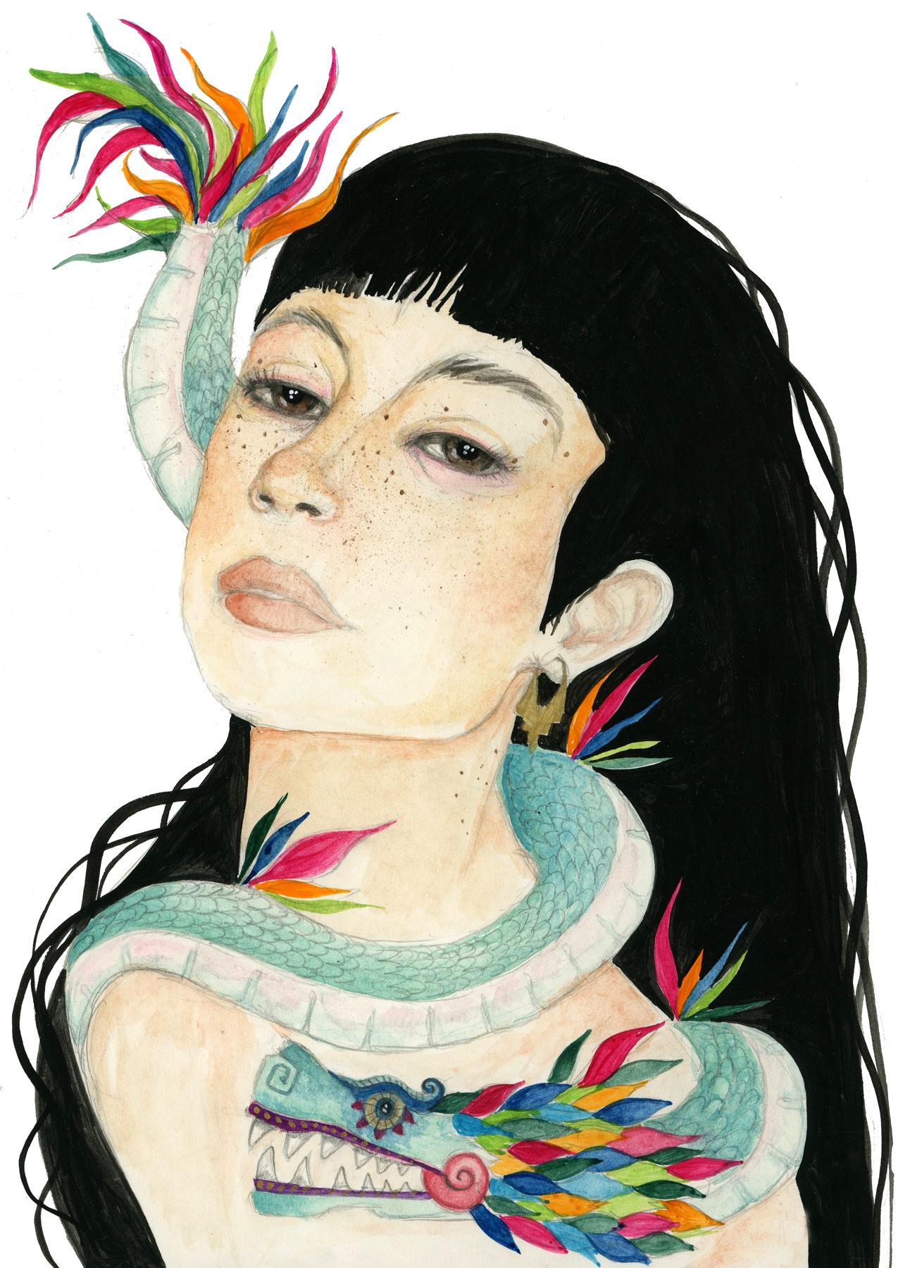 Quetzacoatl & Freckles