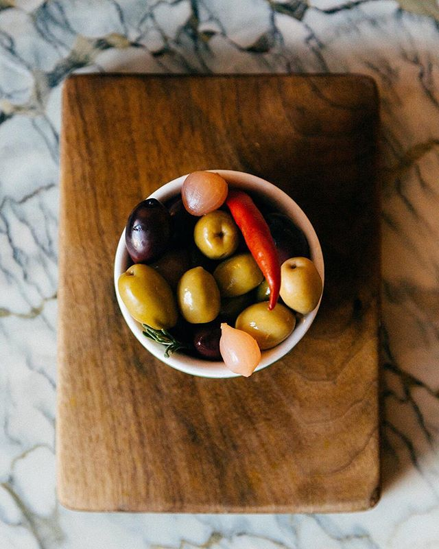 Our olives  #barsnacks  #cocktails