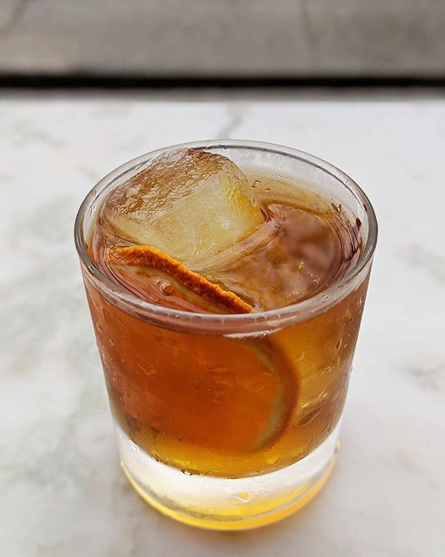 We're also saying goodbye to our Built into the Cliff, drink 'em while we got 'em  New drinks next week!  #rum #oldfashioned #cocktails