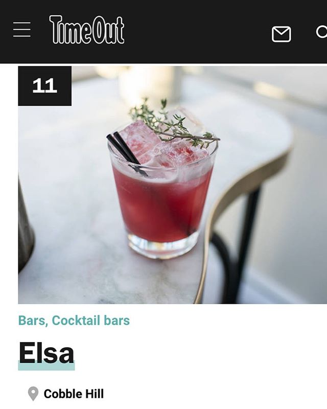 @timeoutnewyork named us one of the best bars in New York City (#11) 🤘🧙‍♂️ #cocktails #thebigapple