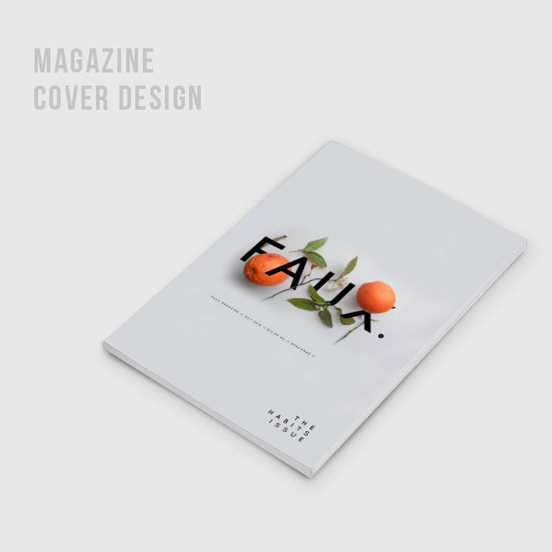FAUX Magazine / Editorial Design