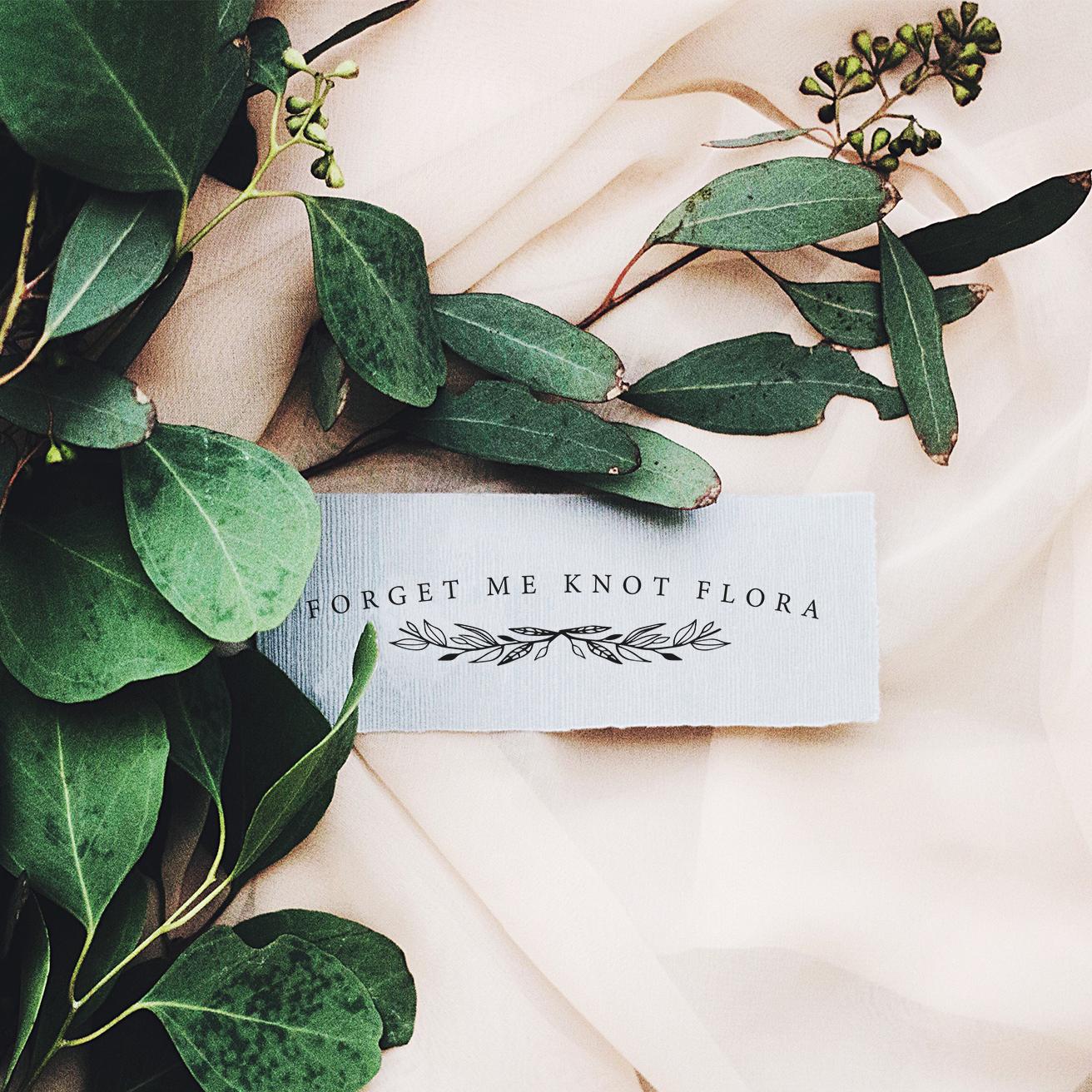 Forget Me Knot Flora / Logo Design
