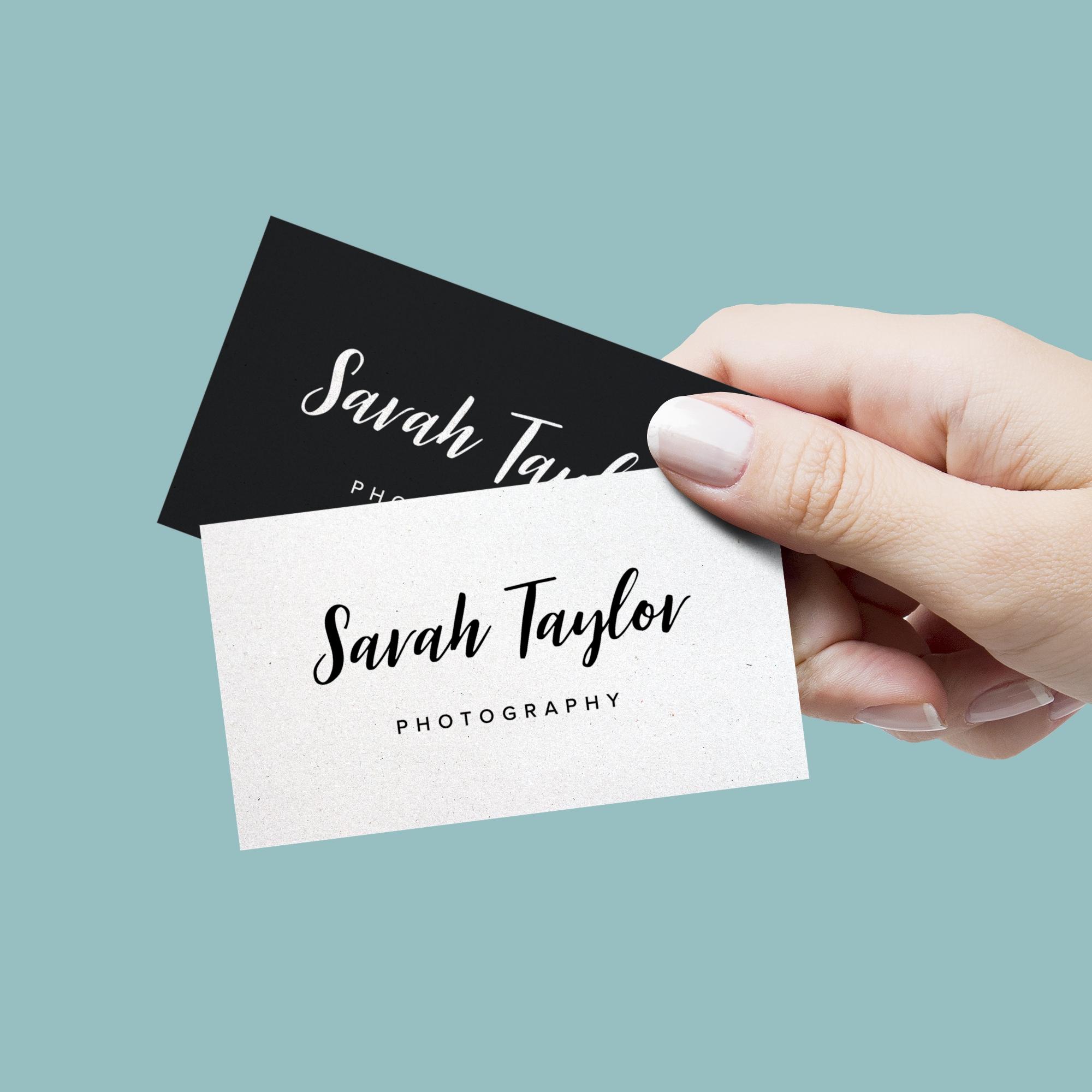 Sarah Taylor Photography / Logo Design