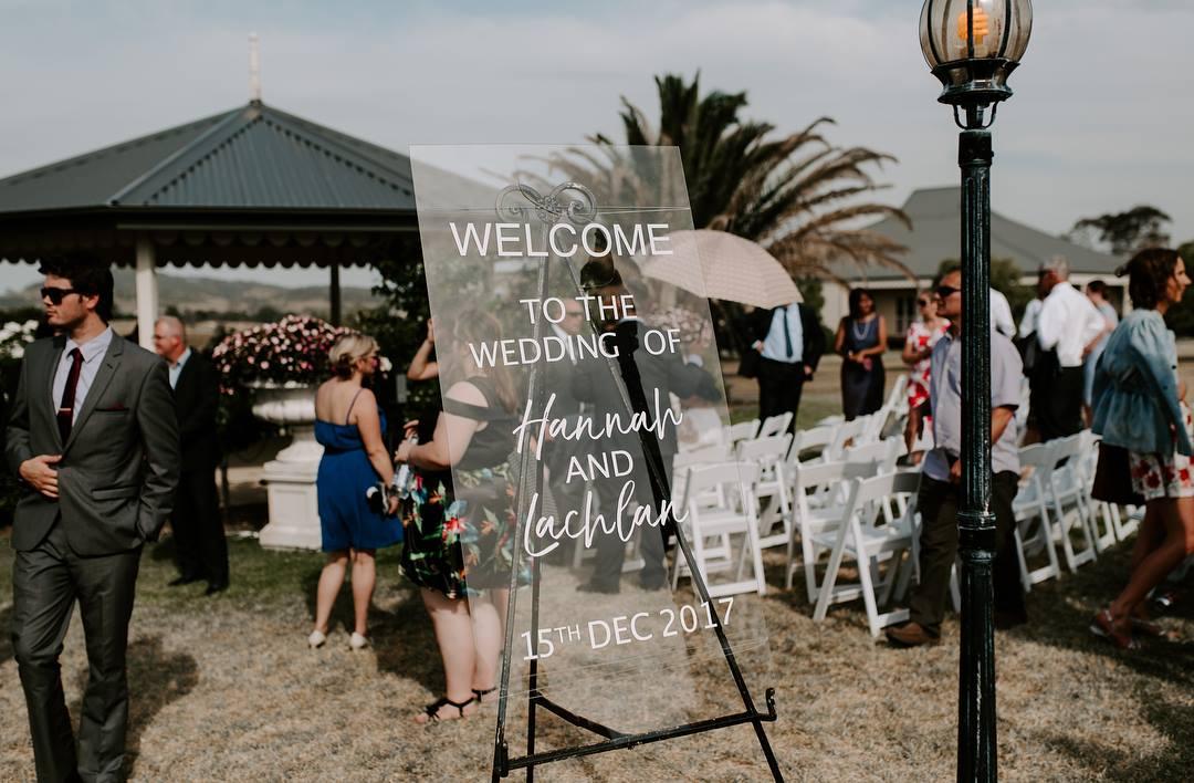 Modern + Minimal Welcome sign  // Rebecca Lee Creative