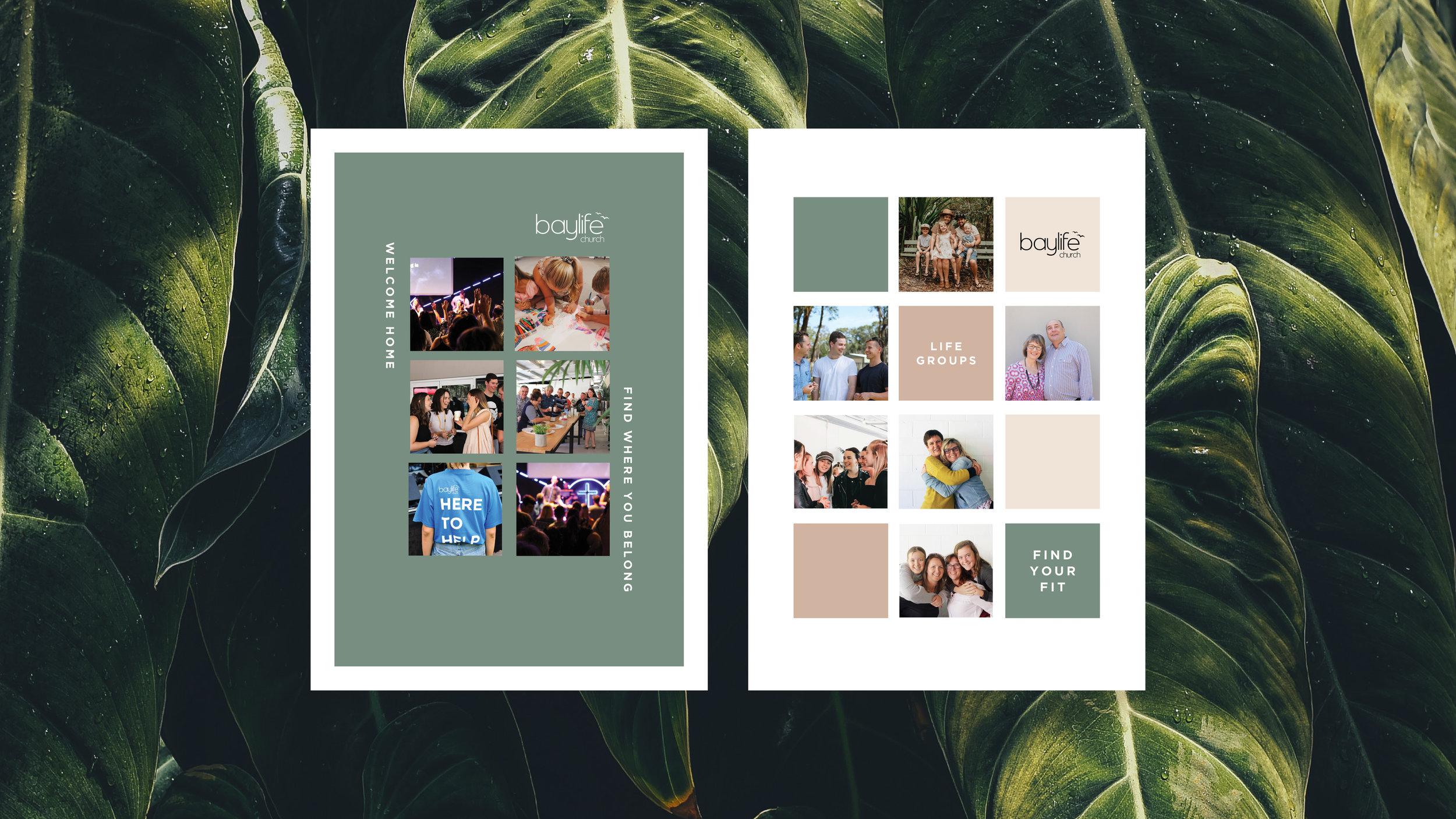 Brochure Design    Rebecca Lee Creative