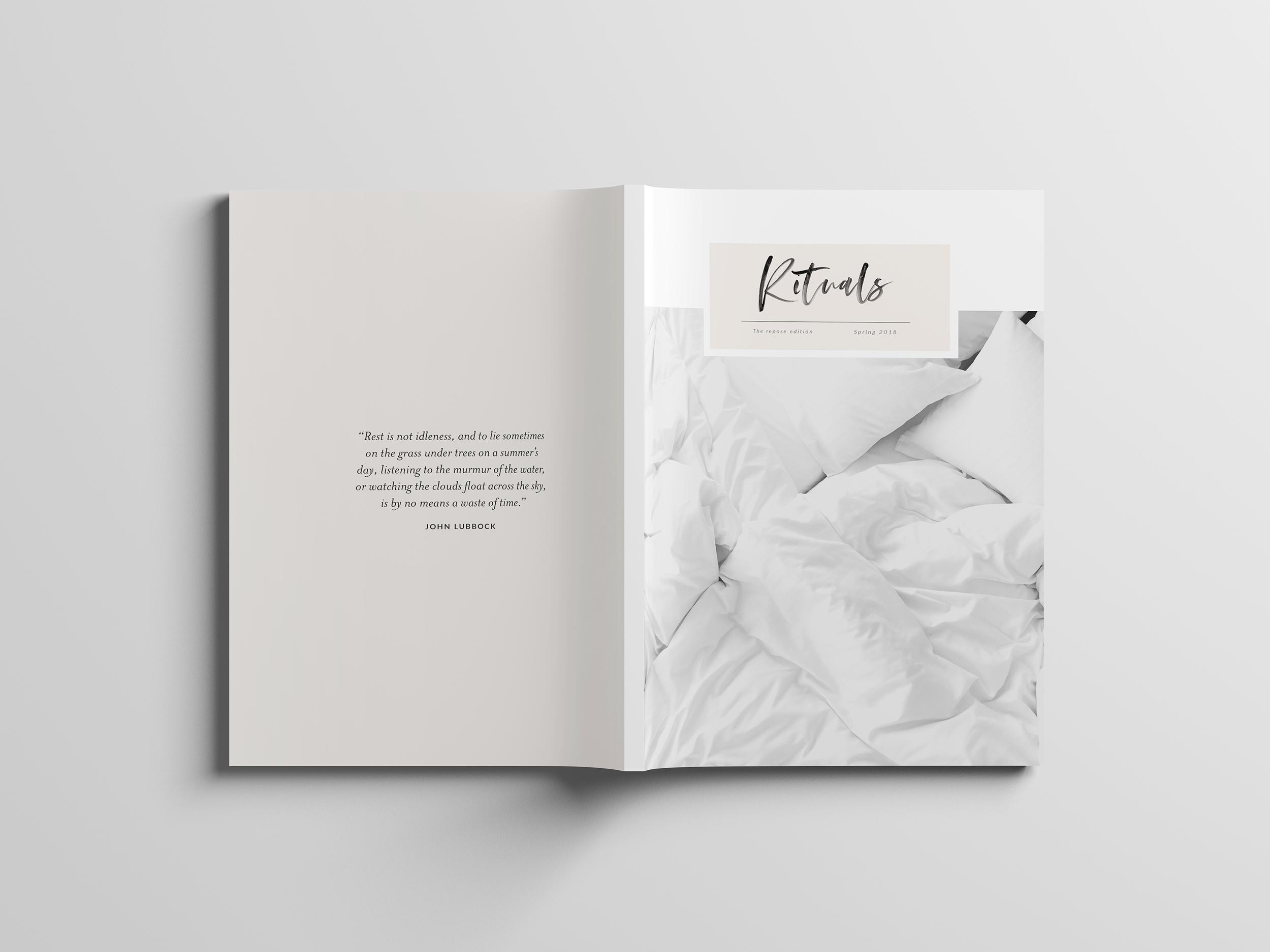 Rituals Magazine / Editorial Design