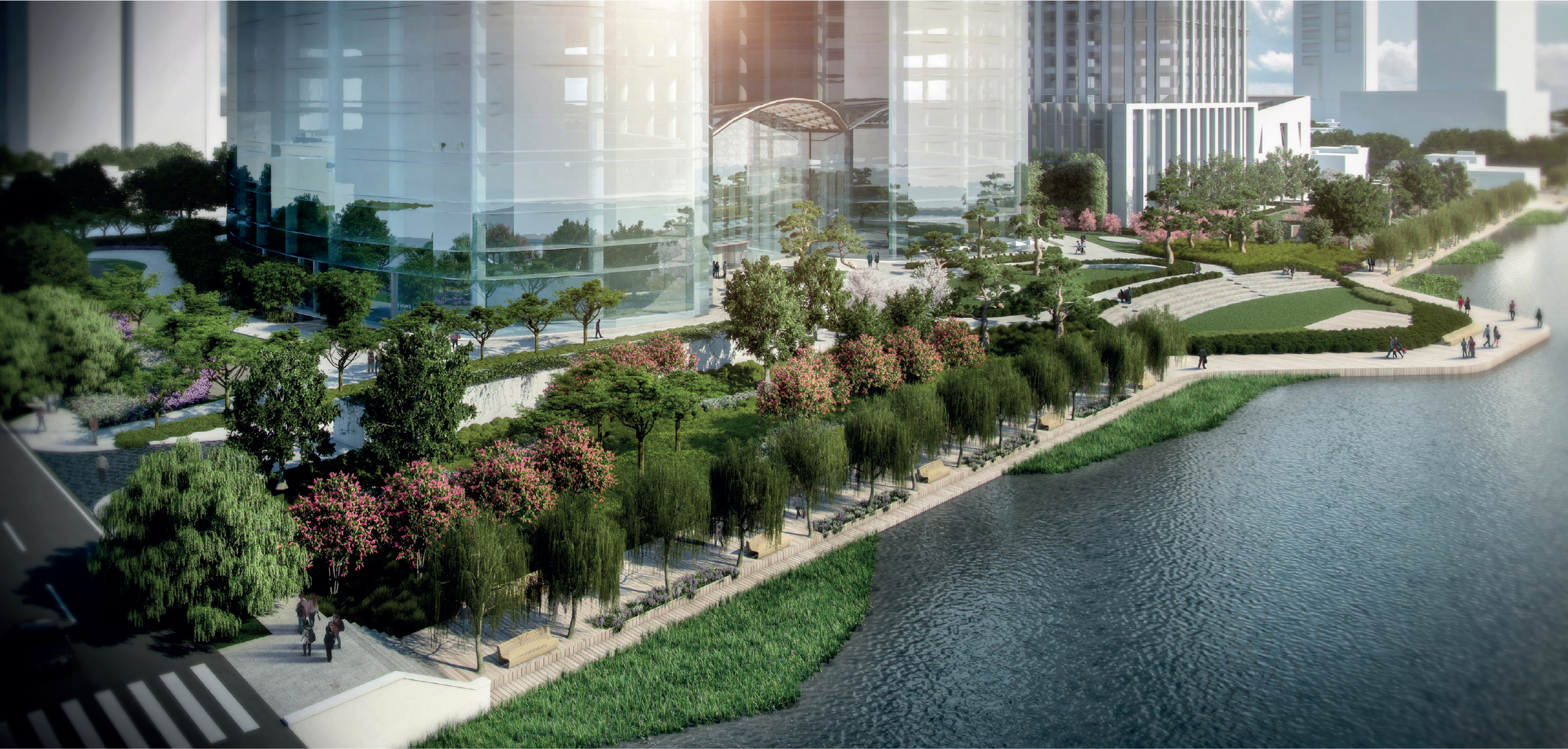 overall site view (produced by genesis & professional rendering company)