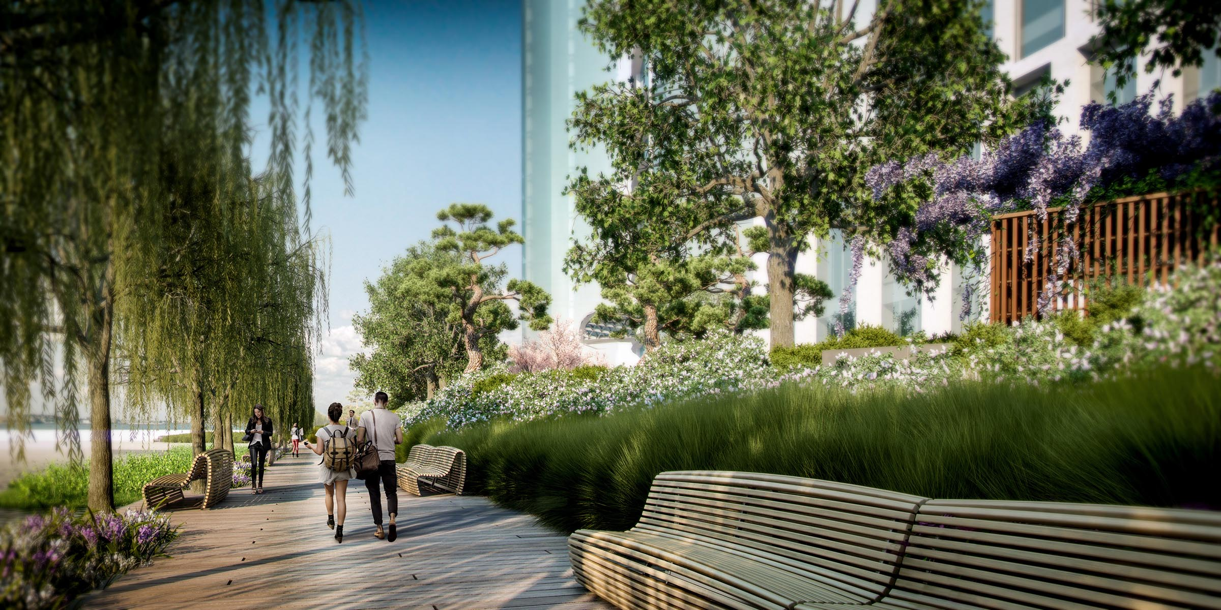 promenade view (produced by genesis & professional rendering company)