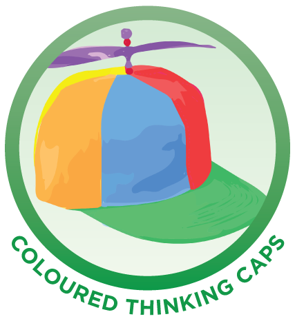 Coloured Thinking Caps Minds Wide Open