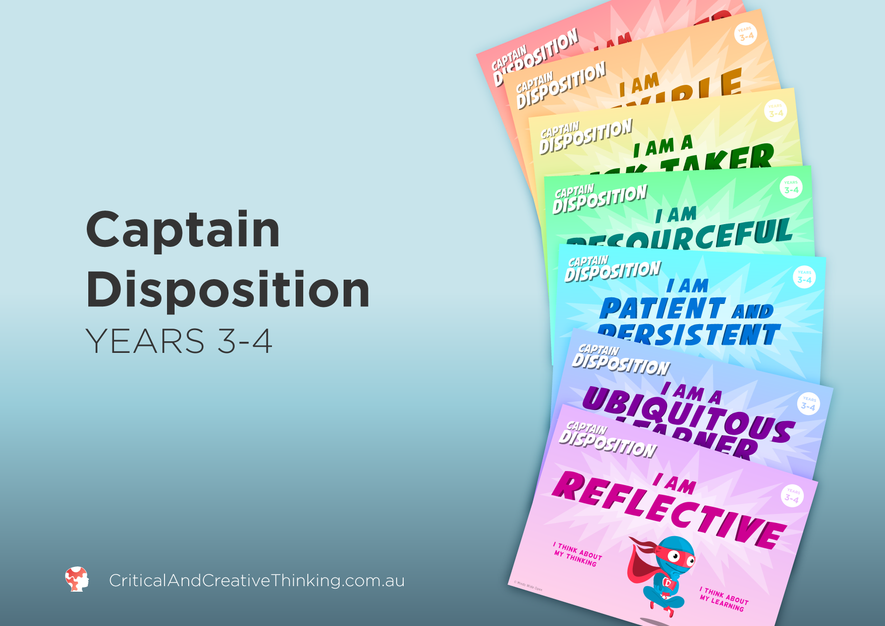 Captain Disposition Year 3 - 4