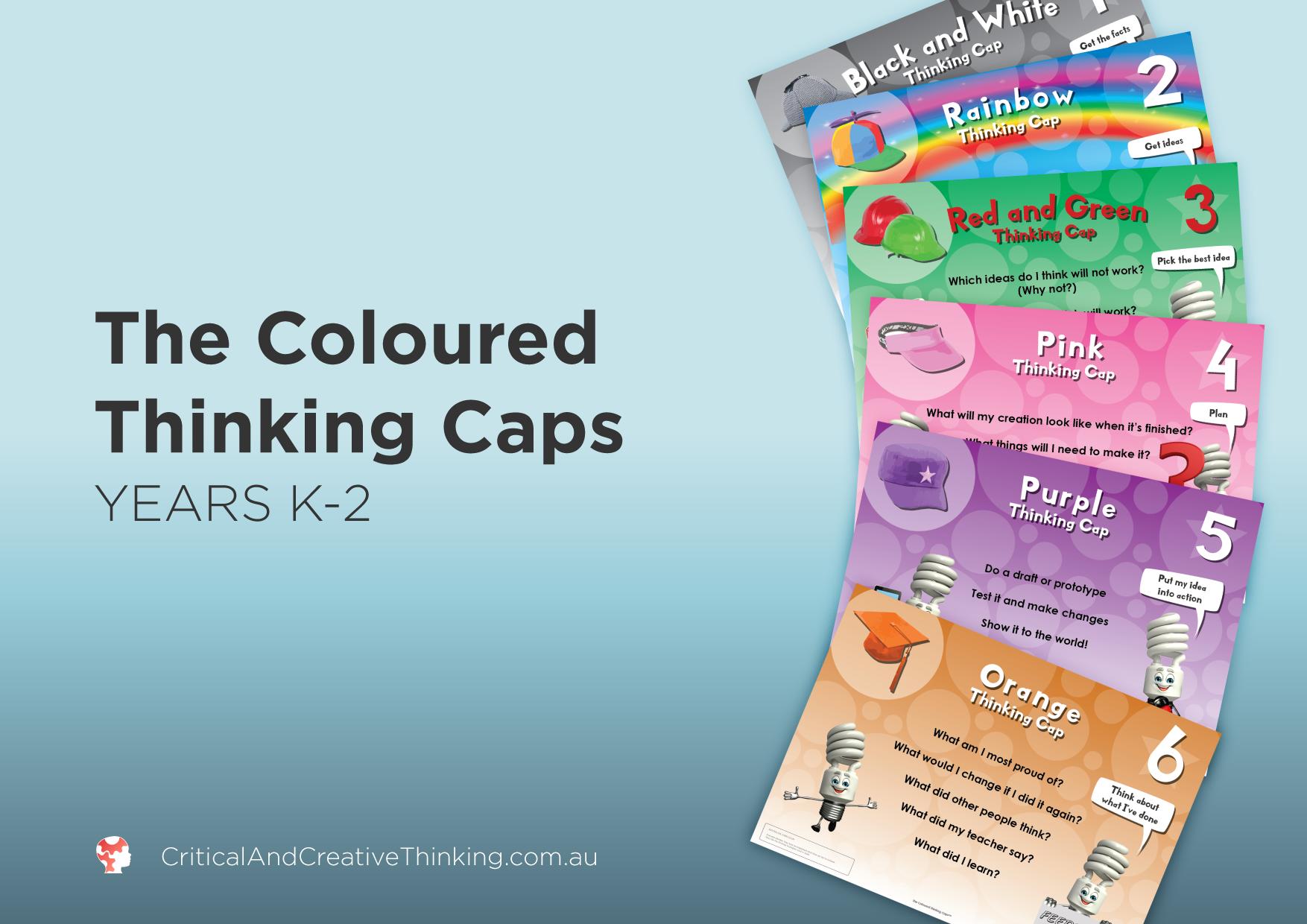 CCT coloured thinking caps year K-2 Foundation