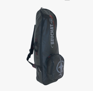 Beuchat Apnea Backpack     SGD 110   Excellent backpack for everyday travel. Fits your Freediving fins, mask and wetsuit. Has a small seperate compartment for dry items