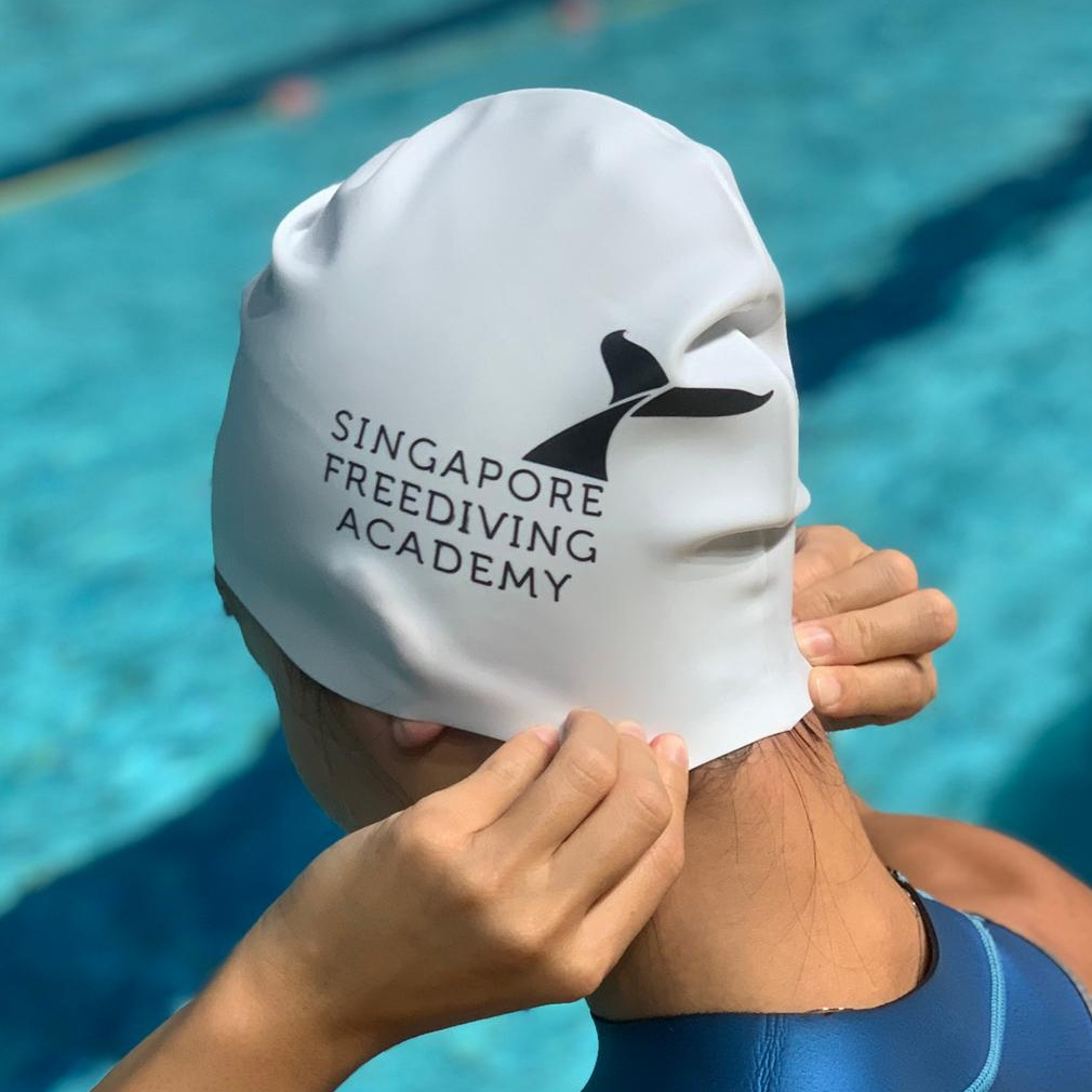 Swim Cap (White)    SGD 15