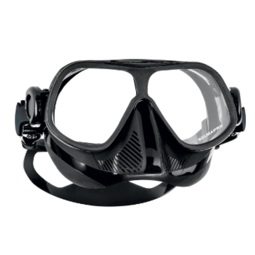 Scubapro Steel Comp Mask  SGD 105  Low volume. Flexible mask that bends in half. Popular model.  Extremely low volume fantastic for depth.  Comes in either Full Black or Full White
