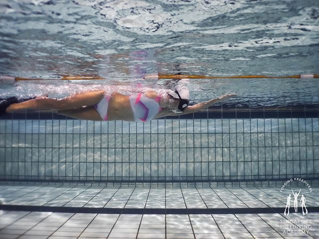 """True enjoyment comes from activity of the mind and exercise of the body; the two are ever united."" - Wilhelm Von Humboldt • #apneasg #freedivesg #sgfreediving #freediving #sfa #singaporefreedivingacademy #pooltraining #training #onebreath #teachingisfun #getactive #gethealthy #losethegains #justkeepswimming"