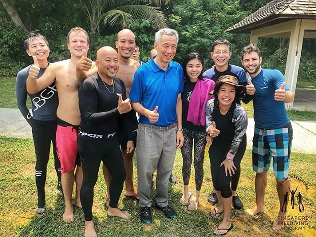 Last weekend's thrills😉! What are you up to this weekend? • #sgprimeminister #leehsienloong #apneasg #freedivesg #sgfreediving #freediving #sfa #singaporefreedivingacademy #sunkissed #sun #sand #sea #beactive #getoutside #ssi #ssifreediving #ssifreediver #padi #padifreediving #students #teachingisfun #learnnewsport #newpassion #buildingcommunity #exploresg #joinus!
