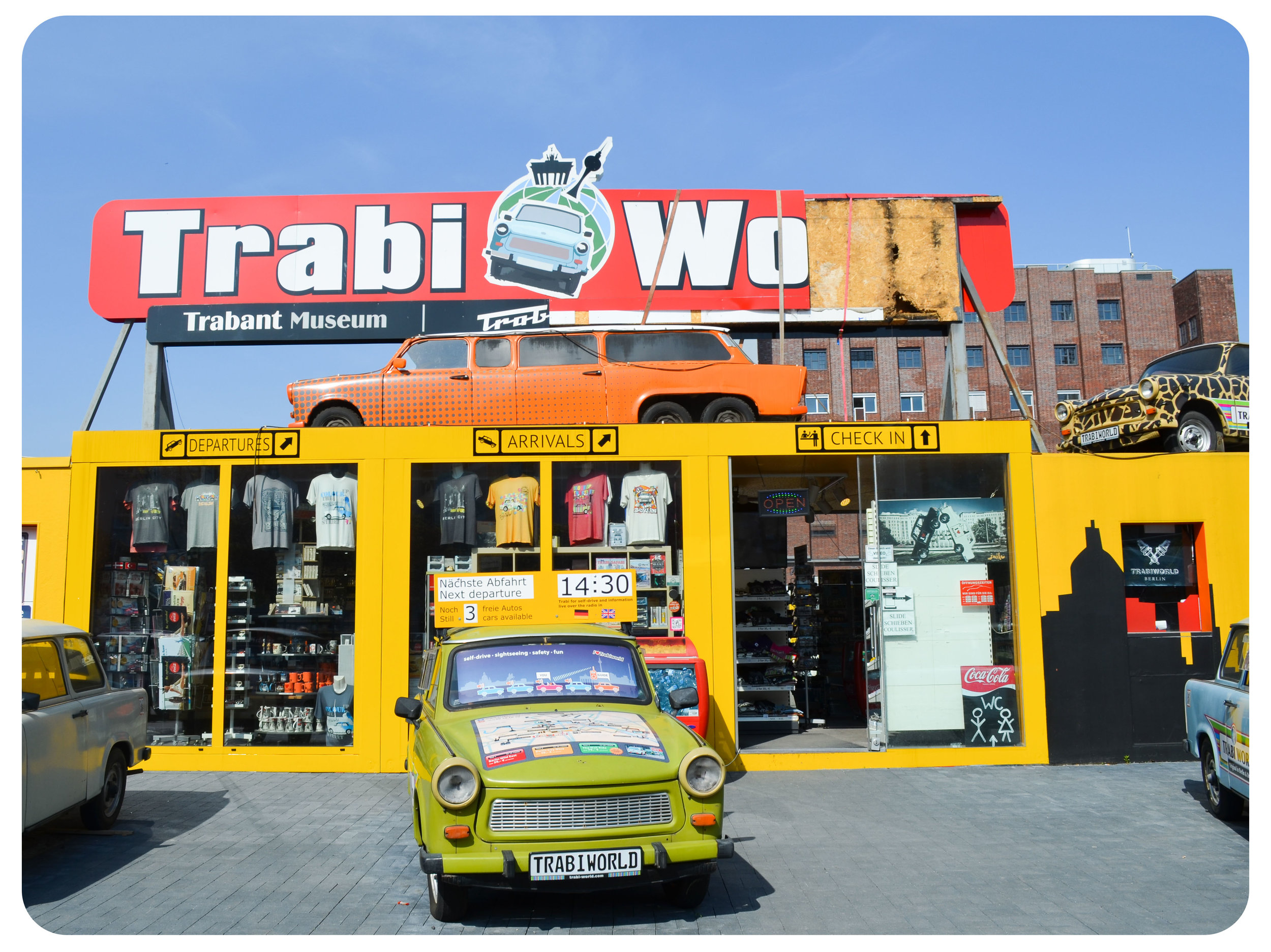 Trabant Museum next to the Checkpoint Charlie