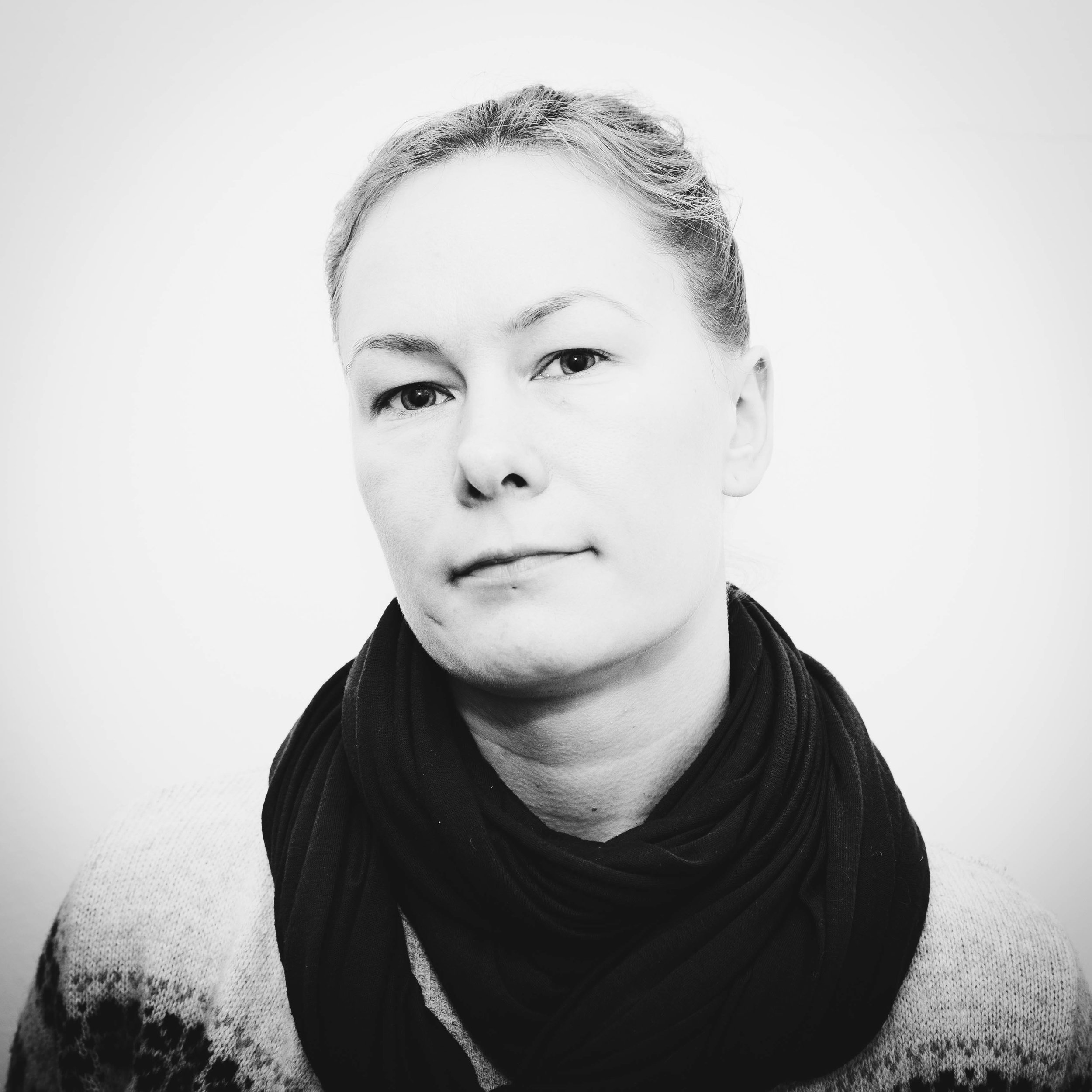Sonja Linnanvuo   Sonja is our shooting star. At Vintra, she's involved with the most versatile projects, filming anything from puppies to CEO's, mastering it all with her camera ninja skills. When Sonja is not pointing camera towards anyone, you can find her on tatami doing martial arts.