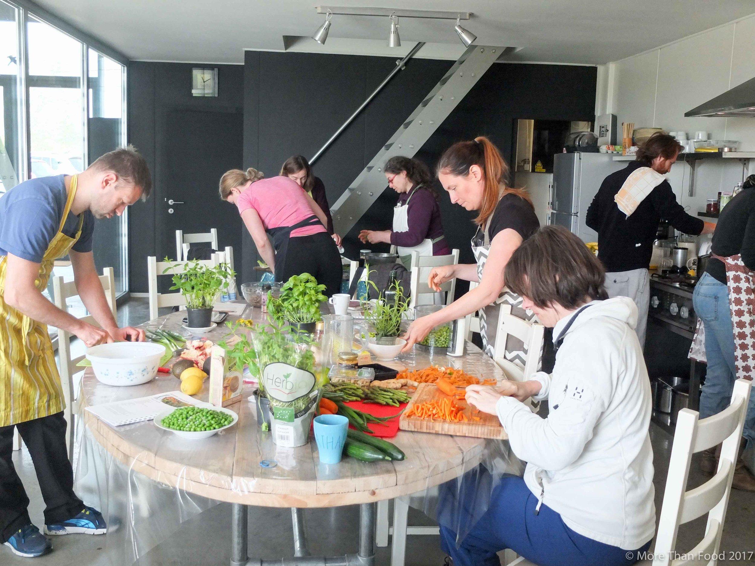 Workshop gezonde lunchboxen: actie in de keuken!