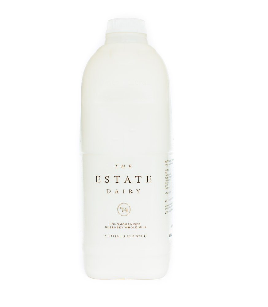 Whole Milk    Unhomogenised Jersey and Guernsey 2 Litres