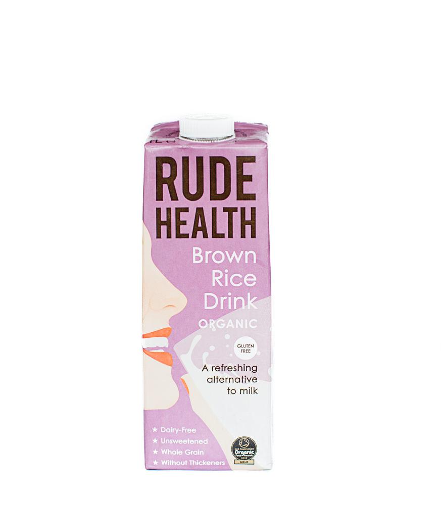 Rude Health   Brown Rice Milk 1 Litre