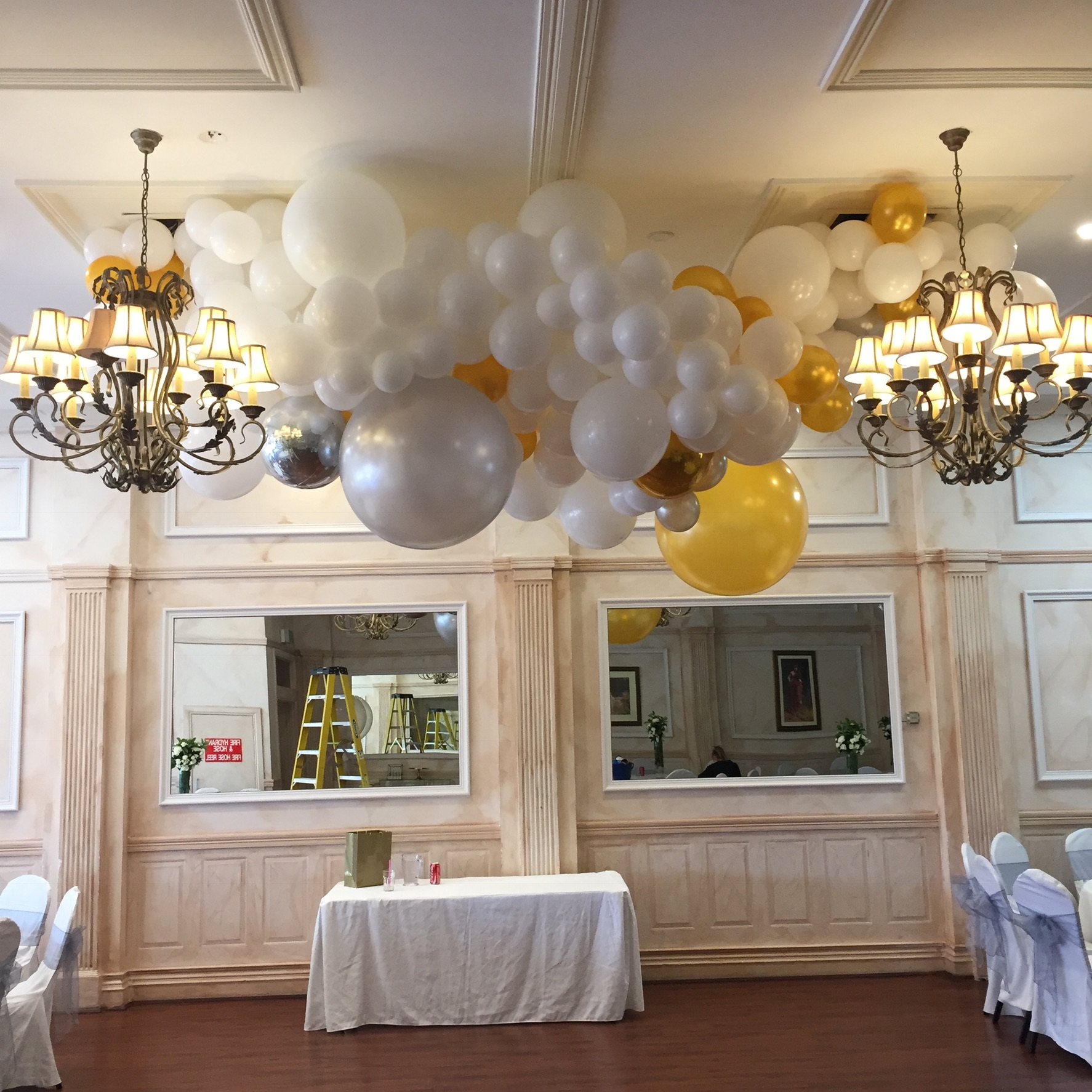 Stephanie's dance-floor canopy - REQUEST A QUOTE
