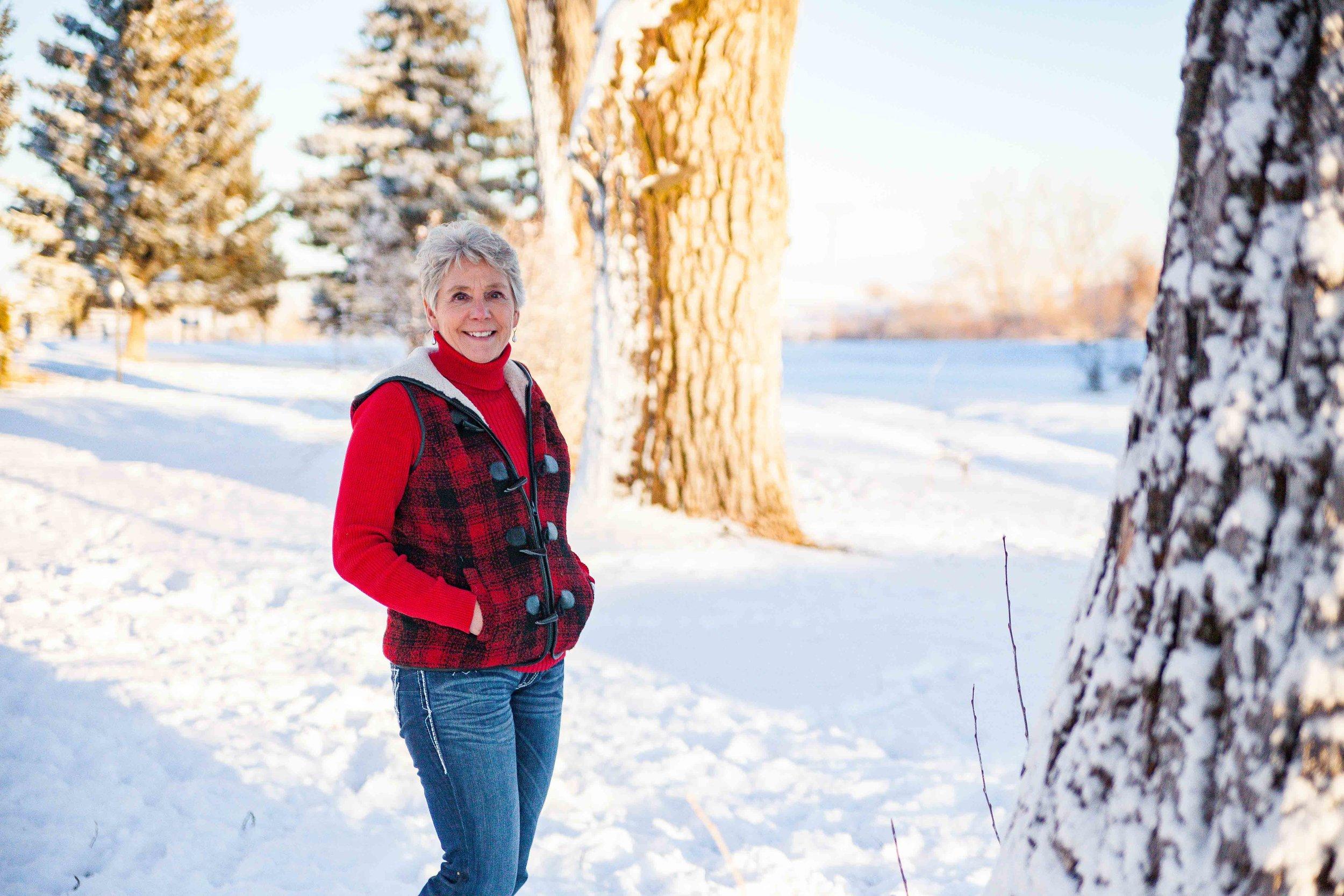 Winter Mini Session in Sheridan Wy