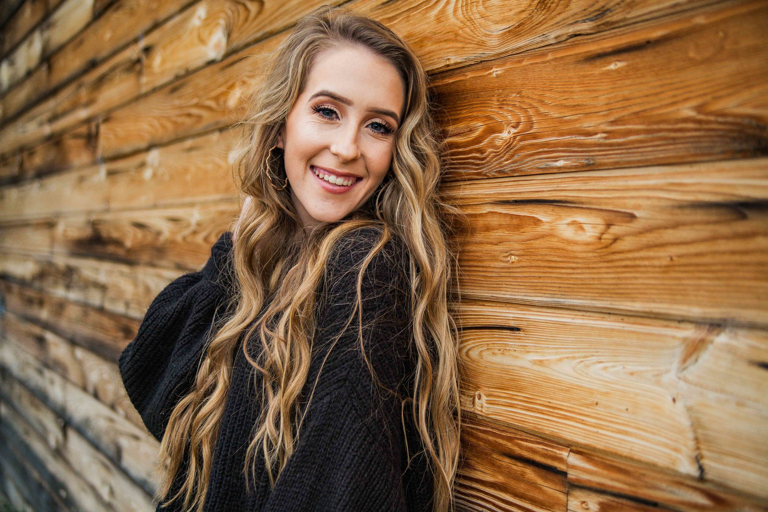 Rustic Barnwood Senior Photos