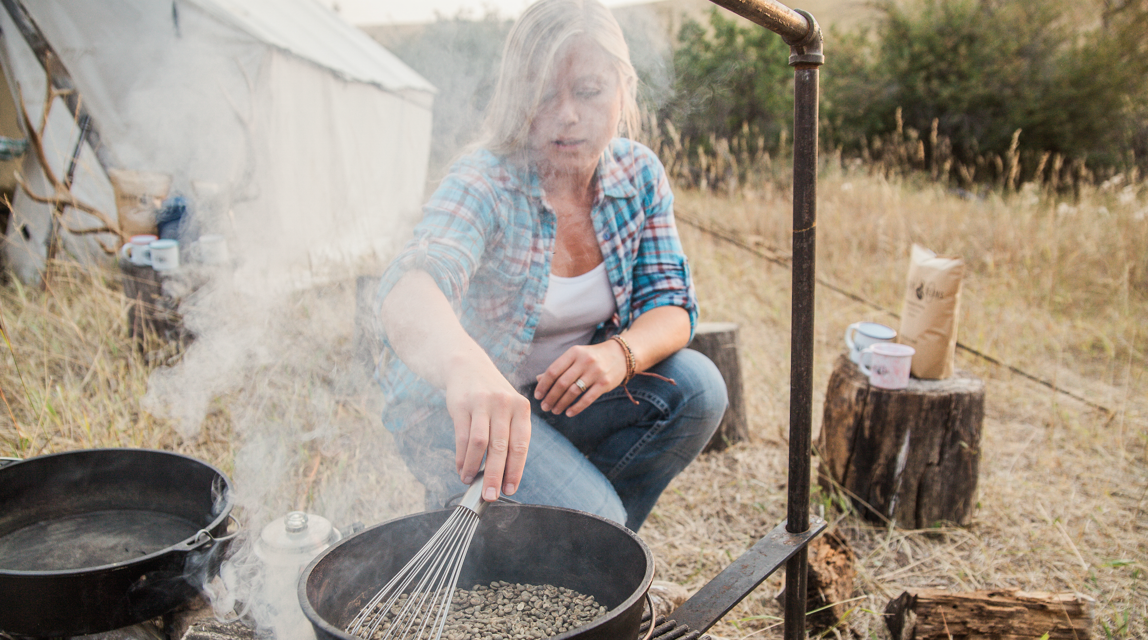 Entrepreneur Angie Caster of Wyo Buckin' Beans by Kerns Photography